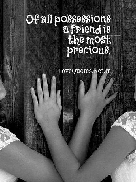 Friend is The Most Precious