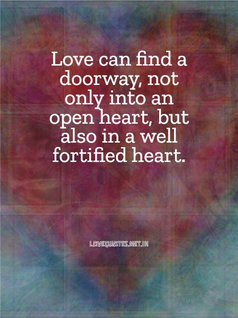 Love Can Find a Doorway