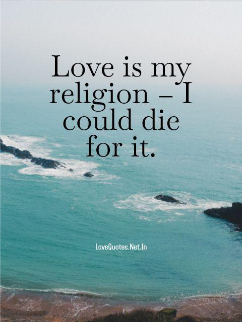 Love Is My Religion
