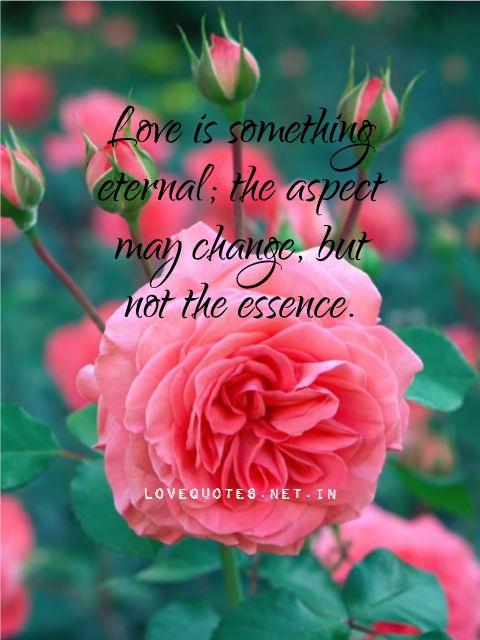 Love Is Something Eternal