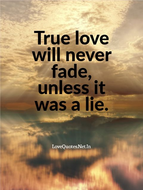 True Love Will Never Fade